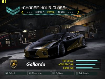 Need For Speed Carbono - 1 Link