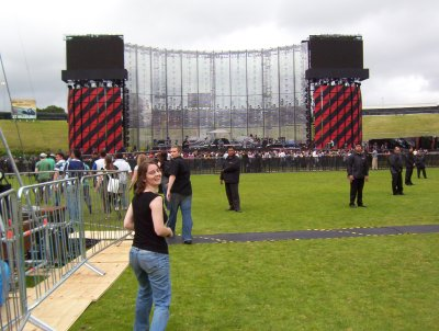 Megan and Stage